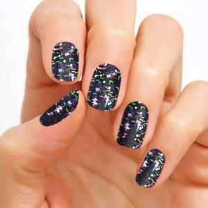 Color Street Ready, Set, Confetti Nail Strip